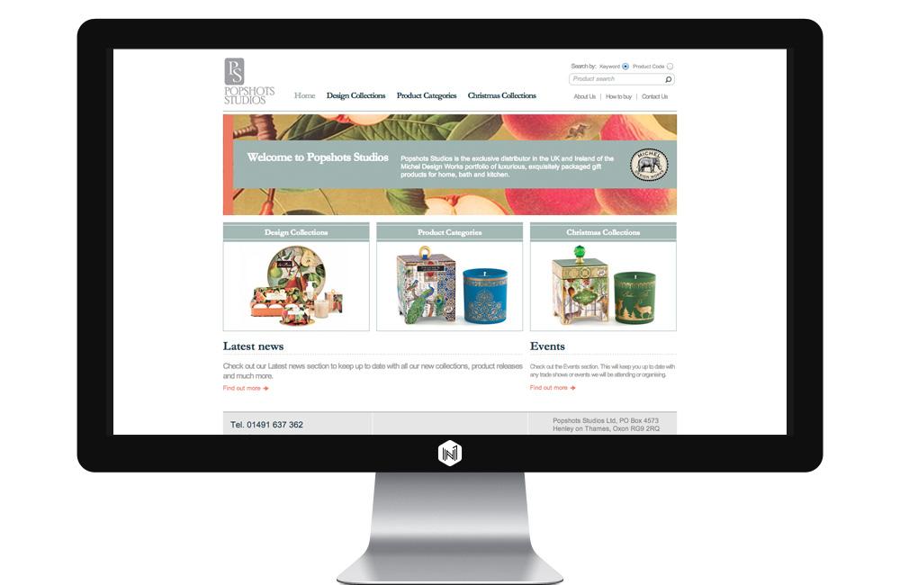 Popshots Studios website